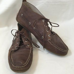 Rare SPERRY Women's Brown Bellport Laced Boots 7.5